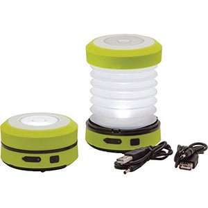First Gear Passenger 1W Dynamo Powered LED Lantern, Electric Green - onlinesportsmall