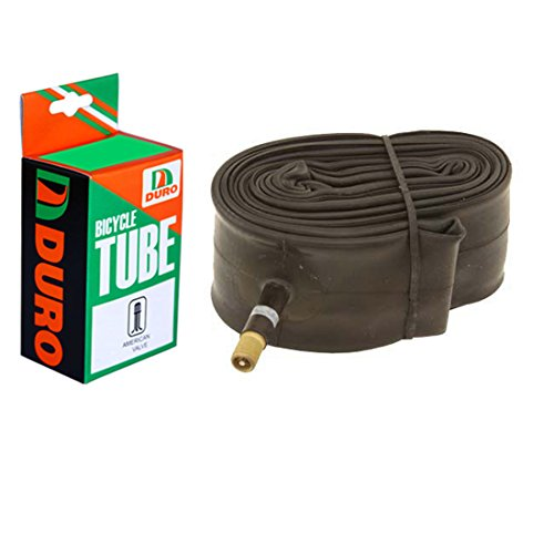"Duro Bicycle Tube 26"" x 1.75""/2.125"" (33mm) Standard American/Valve . - onlinesportsmall"