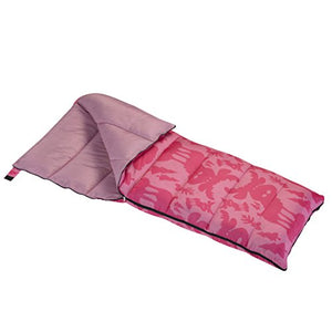Wenzel Moose 40 Degree Sleeping Bag - Pink - onlinesportsmall