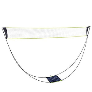 Portable Removable Badminton Net With Stand Carrying Bag,volleyball net for Outdoor Indoor Beach Sport - onlinesportsmall