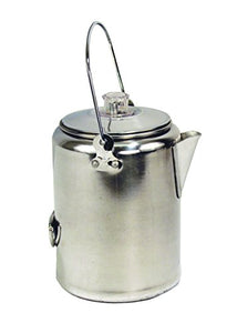 Texsport Aluminum 9 Cup Percolator Coffee Maker for Outdoor Camping - onlinesportsmall