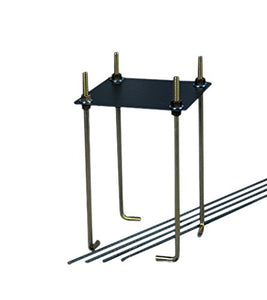 "Goalrilla 9"" Basketball Anchor System Installs In-Ground and Allows Goalrilla Hoop to Move with You - onlinesportsmall"