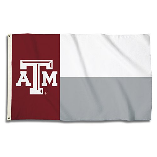 Texas A&M Aggies - 3 Ft. X 5 Ft. Flag With Grommets - onlinesportsmall
