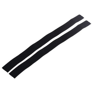 BCP 2pcs Multi-Purpose Hook and Loop Fastener Elastic Riding Cycling Bike Safety Leg Bind Trousers Pants Keeper Leg Band Strap - onlinesportsmall