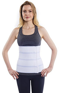 "NYOrtho Abdominal Binder Lower Waist Support Belt - Compression Wrap for Men and Women (45"" - 60"") 4 Panel - 12"" - onlinesportsmall"