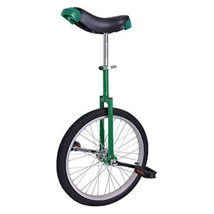 20 inch Wheel Unicycle Green - onlinesportsmall