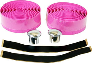 DUO Bicycle Parts Eva Cork Tape for Handle Bar Grip, Pink - onlinesportsmall