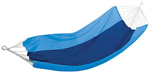 Stansport Malibu Packable Nylon Hammock, Blue/Sky Blue, 85 x 59-Inch - onlinesportsmall
