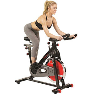 Sunny Health & Fitness Sf-B1002 Belt Drive Indoor Cycling Bike, Grey - onlinesportsmall