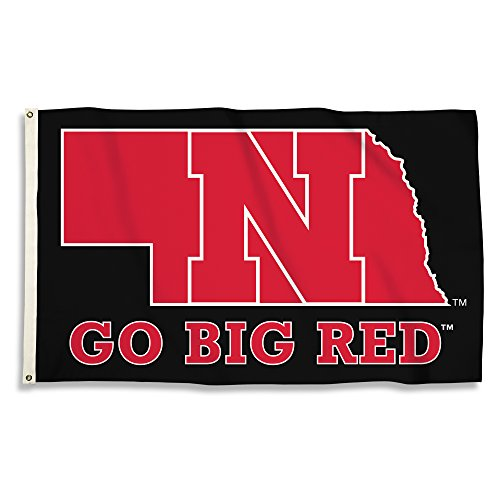 Nebraska Cornhuskers - 3 Ft. X 5 Ft. Flag With Grommets - onlinesportsmall