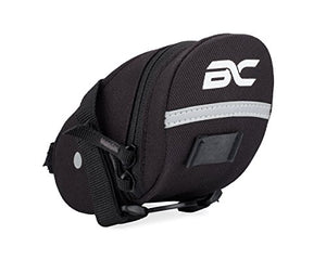 BC Bicycle Company Bicycle Saddle Bag by Small Under Seat Pack for Road and MTB Bikes - Holds All Your Essential Cycling Accessories - onlinesportsmall