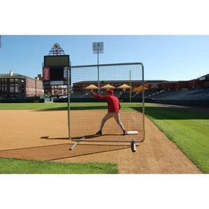 ProCage Premium 1st Base/ Fungo Protective Screen 7ftx7ft w/Net - onlinesportsmall