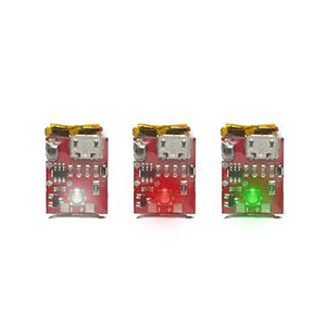 Strobon 3 Pack Cree Navigation (White, Red, Green) Battery operated strobe lights for drones - onlinesportsmall