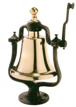 "16.5"" X 8"" Brass Victory Bell - onlinesportsmall"