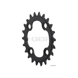 SHIMANO FC-M770 XT 9sp chainring, 104BCD x 32t - sil/blk - onlinesportsmall