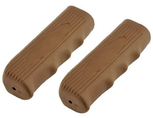 Custom Grips Kraton Rubber Brown. Bike grips, bicycle grips, lowrider grips, beach cruiser grips, mountain bike grips - onlinesportsmall