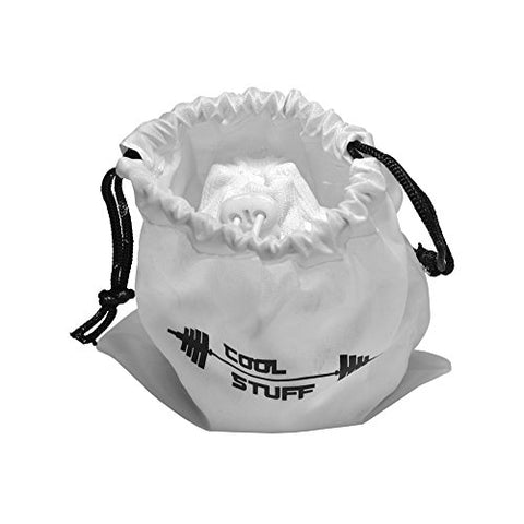 White Gym Chalk Powder Chalk Ball Sock - Small Gym Gymnastics Chalk Bag - Large Big Weightlifting Chalk - Baseball Crossfit Gymnast Chalk Powder - Rock Climbing Chalk Refilled and Resealable Bag - onlinesportsmall