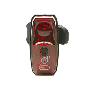 Portland Design Works Gravity+ 100 USB Tail Light with Accelerometer, Red - onlinesportsmall
