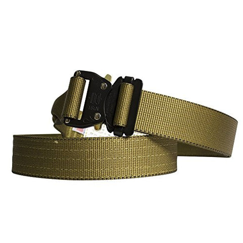 "Fusion Tactical Military Police Riggers Belt Coyote Brown X-Large 43-48""/1.75 Wide"