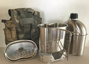 Products G A K G I Style 1 Qt Stainless Steel Canteen With Cup