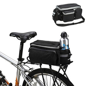 Onedayshop Multi Function Mountain Road Bicycle Bike Cycling Sport Waterproof 7L Rear Seat Bag Pannier Trunk Bag Bicycle Accessories - onlinesportsmall