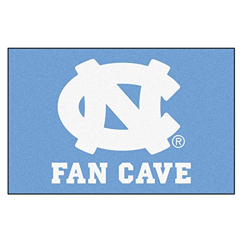 Fanmats 14620 UNC University of North Carolina Chapel Hill Fan Cave Starter Rug - onlinesportsmall