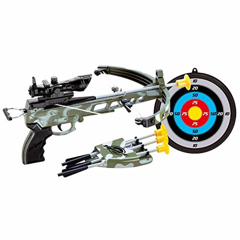 Military Toy Crossbow Set w/Target - onlinesportsmall