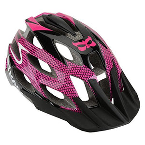 Kali Protectives Amara Helmet with Mount, Cobra Magenta, X-Small/Small - onlinesportsmall