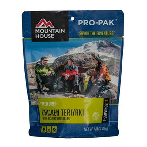Ckn Teriyaki W/Rice 2serv Mountain House 0050124 - onlinesportsmall