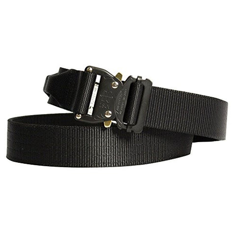 "Fusion Tactical Military Police Riggers Belt Black 2X-Large 48-53""/1.75"" Wide"