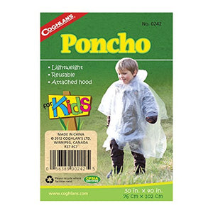 Coghlan's Poncho For Kids - onlinesportsmall