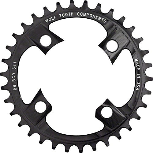 Wolf Tooth Components 30t 88bcd Drop-Stop Chainring for Shimano XTR M985 cranks - onlinesportsmall