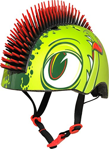 Raskullz Slimeball Helmet, Green, Ages 5+ - onlinesportsmall