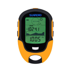 SUNROAD Multifunctional Digital Barometric Altimeter Compass Weather Forecast Thermometer Hygrometer Barometer, by - onlinesportsmall