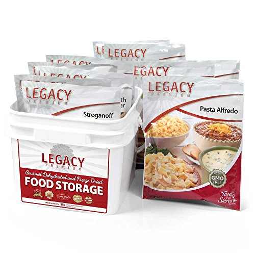 32 Serving Family 72 Hour Emergency Food Supply Kit - 9 lbs - Disaster Relief - Survival Preparedness Supplies - Dehydrated / Freeze Dried Food Storage - onlinesportsmall