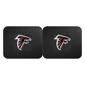 Fanmats 12350 NFL - Atlanta Falcons Utility Mat - 2 Piece - onlinesportsmall