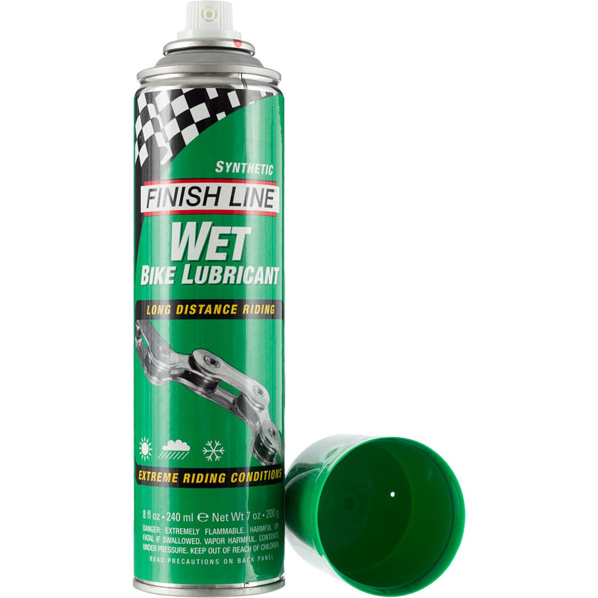 Finish Line Cross Country Wet Spray Lube 8oz. - onlinesportsmall