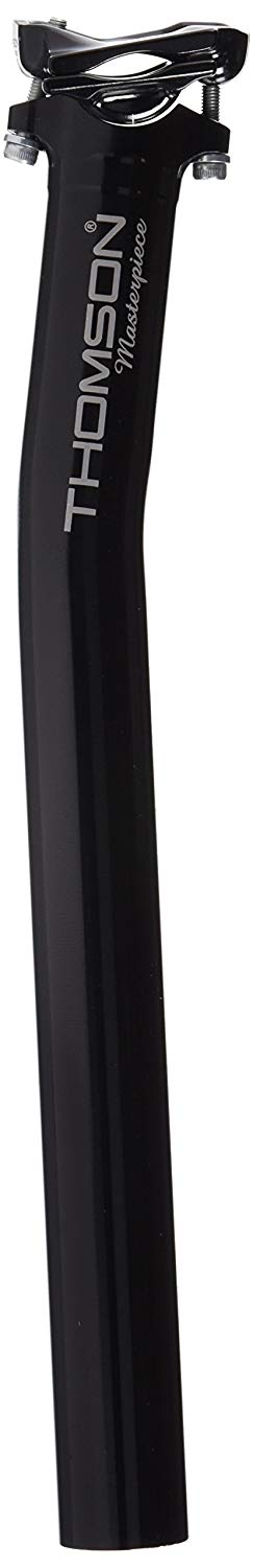 Thomson Masterpiece Bicycle Seatpost (Setback, 31.6X350 mm, Black) - onlinesportsmall