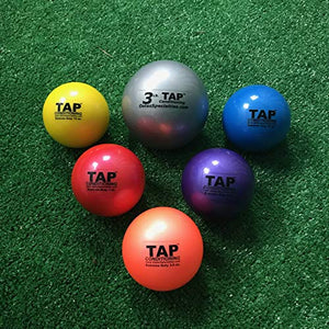 TAP Extreme Duty Weighted Ball- Set of Six | Plyo Balls Used in Pitching and Hitting Training - onlinesportsmall