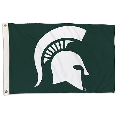 Michigan State Spartans - 2 Ft. X 3 Ft. Flag with Two Grommets - onlinesportsmall