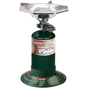 Coleman Bottle Top Propane Stove,Green,6.62  H x 7.81  W x 7.75  L - onlinesportsmall
