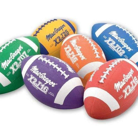 Junior Size Footballs Mulitcolor - Set of 6 - onlinesportsmall