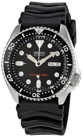 Seiko Men's Automatic Analogue Watch with Rubber Strap SKX007K - onlinesportsmall