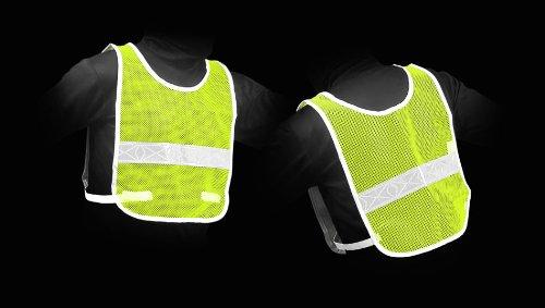 Jogalite REFLECT O VEST Lime / White - onlinesportsmall