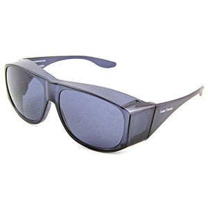 Solar Shield Fits-Over SS Polycarbonate II Smoke Sunglasses - onlinesportsmall