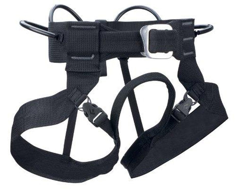 Black Diamond Alpine Bod Harness, Medium, Black - onlinesportsmall