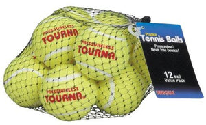 Tourna Mesh Pack of 12 Tennis Balls - onlinesportsmall