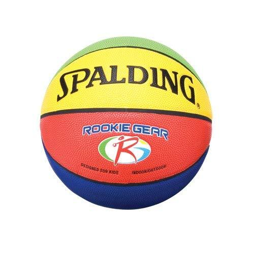 Spalding Rookie Gear Basketball - Multi-Color - Youth Size (27.5\) - onlinesportsmall