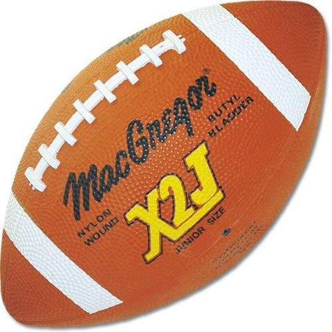 MacGregor X2J Junior Rubber Football - onlinesportsmall