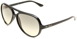 Ray-Ban CATS 5000 - BLACK Frame CRYSTAL GREY GRADIENT Lenses 59mm Non-Polarized - onlinesportsmall